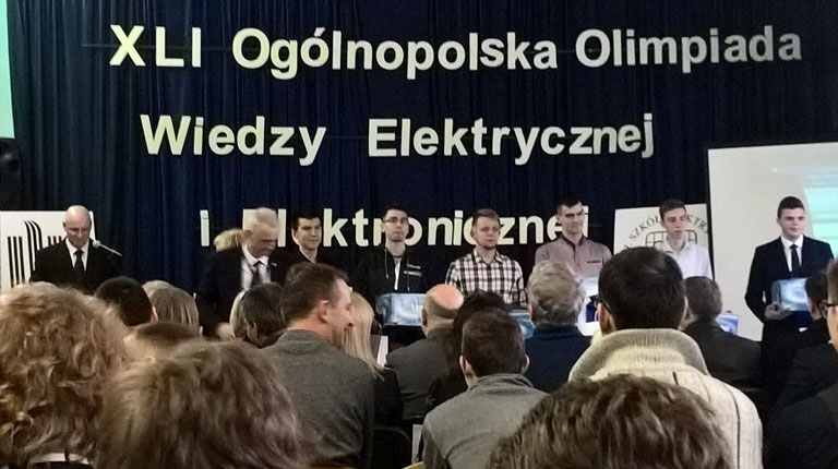 XLI Olimpiada Wiedzy Elektrycznej i Elektronicznej